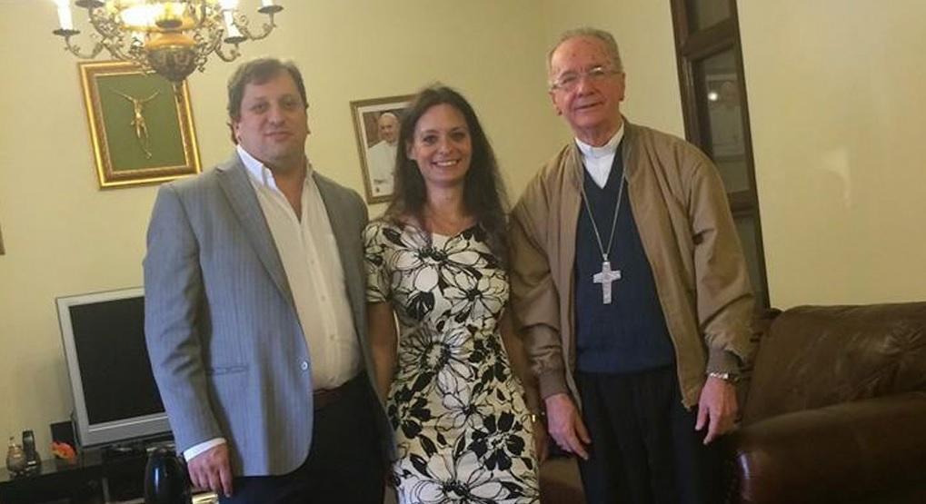 Visita a Cardenal Hummes – Brasil