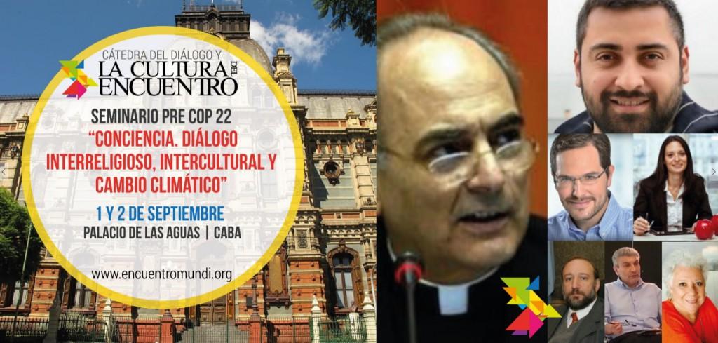 La Cátedra coorganiza Seminarios de cambio climático, preparatorios  para la 22° Conferencia de las Partes – ONU