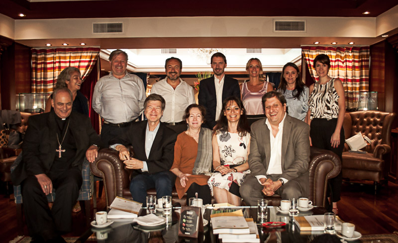 Jeffrey Sachs visitó Argentina y se reunió con nuestra Cátedra