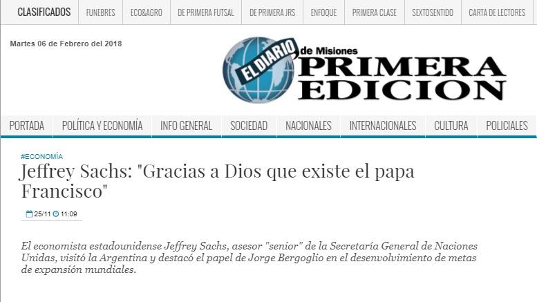 """""""Gracias a Dios que existe el papa Francisco"""""""