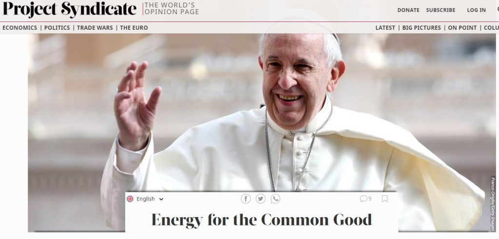 Energy for the Common Good